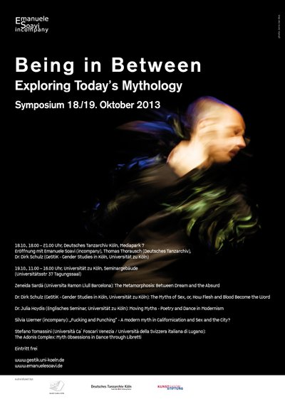 "Symposium ""Being in Between – Exploring Today's Mythology"""