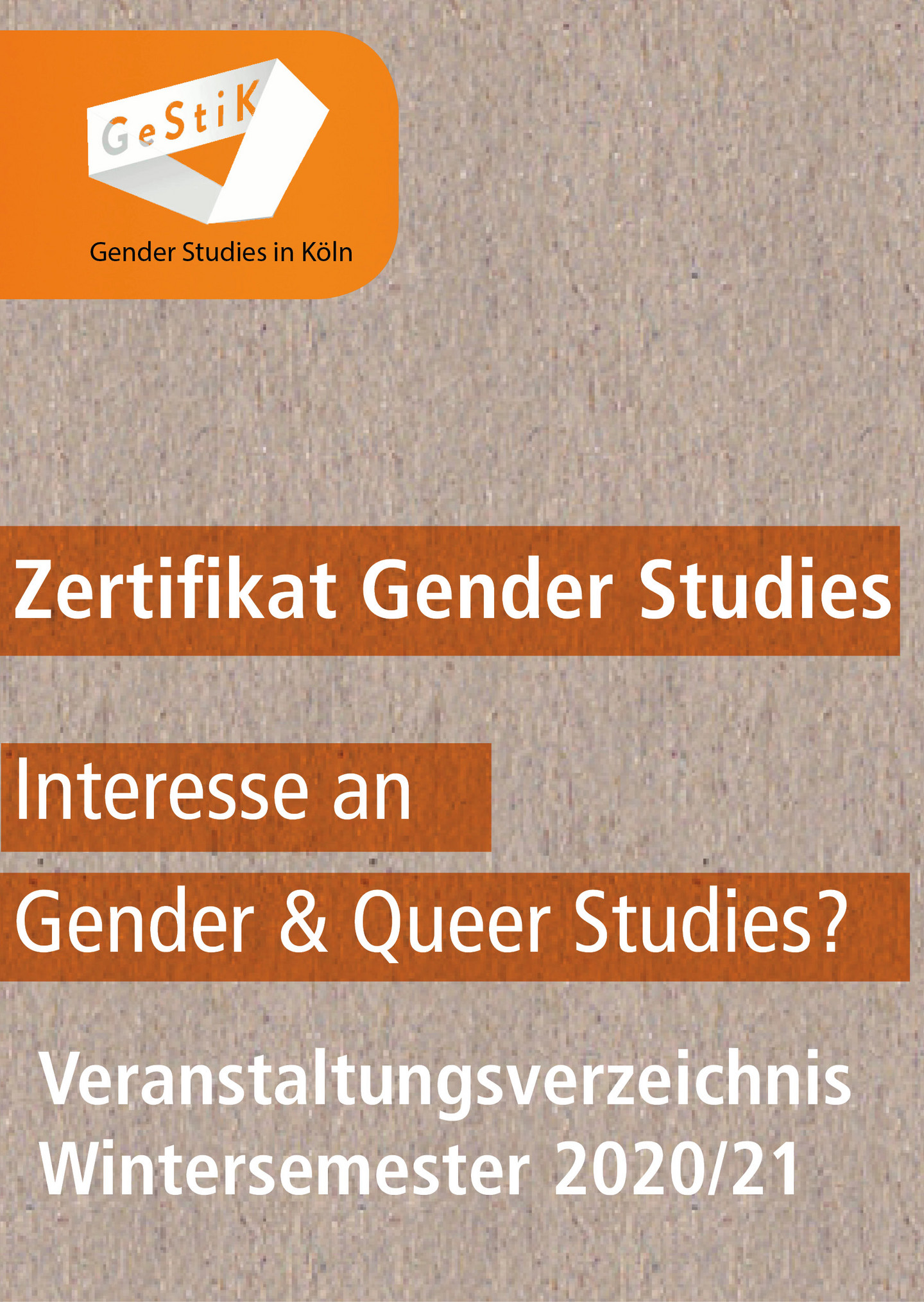 Gender Studies Köln