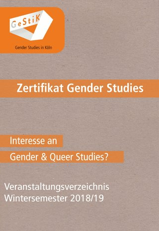 Gestik: Zertifikat Gender Studies